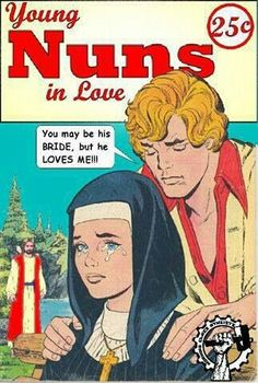 Young nuns in love.