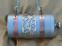 Steampunk Purse Tin Can by PunkyPurses on Etsy, $65.00