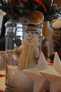 Really like the snowman in the jar scene