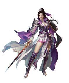 采集图片 Fantasy Female Warrior, Fantasy Rpg, Anime Fantasy, Medieval Fantasy, Fantasy Girl, Female Character Concept, Character Art, Manga Illustration, Character Illustration