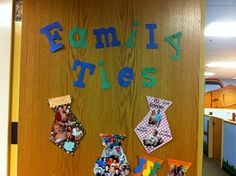 Mrs. Drakes room -All About Me Families
