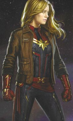 In this final gallery of concept art from Avengers: Endgame, we get to see drastically different designs for a number of characters, including a Nebula with hair, a new-look Captain Marvel, and more. Marvel Cosplay, Captain Marvel Costume, Marvel Women, Marvel Girls, Iconic Characters, Marvel Characters, Nebula Marvel, Marvel Dc Movies, Captain Marvel Carol Danvers