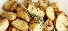 Potatoes roasted with rosemary
