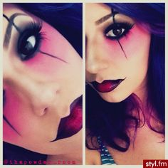 Thinkin bout using this makeup for my costume this year