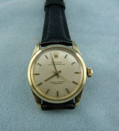Vintage Mid Size CA.1946 14K Gold Oyster by diamondmastersuscoin, $2775.00