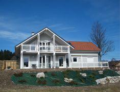 Maison à ossature bois avec balcon - Google Search
