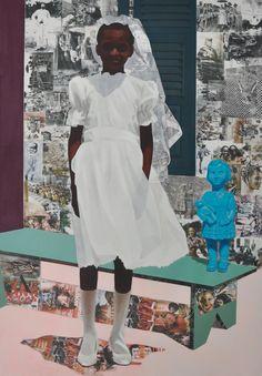 Njideka Akunyili Crosby-Nigerian-Art