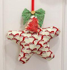 Enfeite de Porta – Estrela do Noel