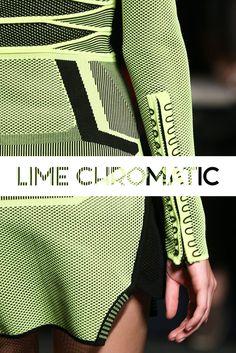 #Details #AlexanderWang #Neon #Green #Runway #Model #Style #Fashion #BiographyInspiration
