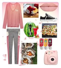 """""""Glamping squad: food"""" by glitterbatgirl-5sos ❤ liked on Polyvore featuring Fujifilm, Converse and Frontgate"""