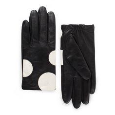 kate spade | bethesda terrace shorty dot gloves