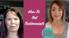 There's no one better to promote your business than your happy clients.  We're breaking down how to get testimonials from your clients without breaking a sweat.