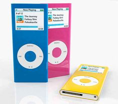 iPod Nanos. I wanted one of these so bad in Grade 6.