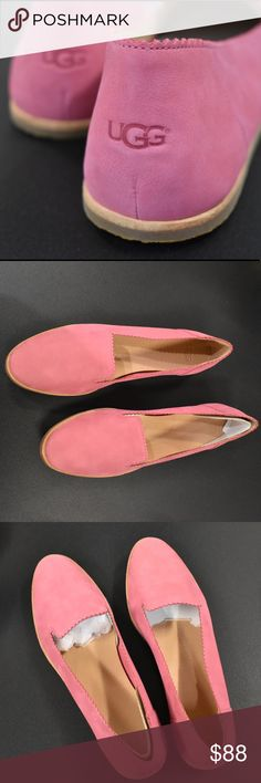 a46da4434 UGG Spring Flats 🌸 NEW Perfect condition, never worn. Authentic UGG.  Beautiful pink