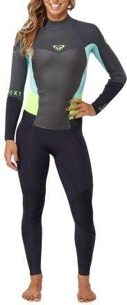 Roxy Syncro 4/3 Back-Zip GBS Wetsuit - Women\'s