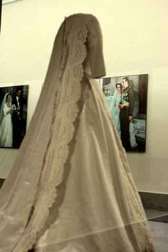 Queen Sofia of Spain wedding gown