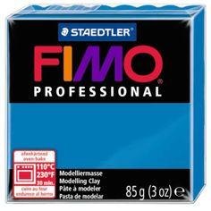 Fimo Professional BLEU PUR N°300 - 85g - Place des loisirs