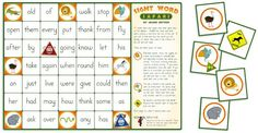 Look out Milton Bradley, the Sight Word Safari is the newest game in town! Grab your FREE board game now!