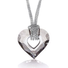 #Fashion #Jewellery- #Swarovski #Heart Fancy #Necklace on #Chain for an #affordable price of only £92.00.Visit us for more #JJaz #gift options at www.diamonds2designs.com.