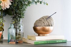 Natural yarn by Josephine Yarns on Conscious Shop Collective | Photo by Angela…