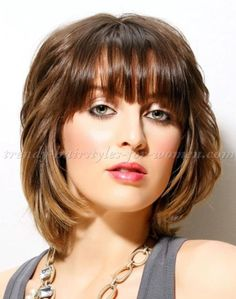 medium+length+hairstyles+for+straight+hair+-+shoulder+length+hairstyle+with+bangs