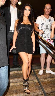 Kim Kardashian - Kim Kardashian Leaving The Ivy Nightclub