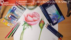 Dieter Legenstein - Drawing 2018 / Red Roses Outta Space Pencil Drawings, Red Roses, Space, Youtube, Art, Watercolor, To Draw, Display, Kunst