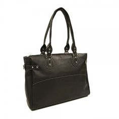 Piel Leather Large Ladies Side Strap Tote  http://www.alltravelbag.com/piel-leather-large-ladies-side-strap-tote/