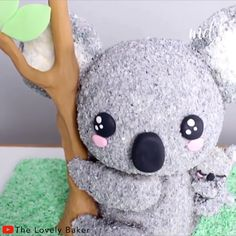 credit cards meme credit card cartoon credit cards infographic credit card meme This Koala and Baby Cake is absolutely adorable Credit: The Lovely Baker Cake Decorating Videos, Birthday Cake Decorating, Cake Decorating Techniques, Cookie Decorating, Crazy Cakes, 3d Cakes, Cupcake Cakes, Animal Cakes, Cake Videos