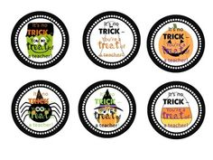 Halloween Teacher Gift Tags - in MY TPT store!!!