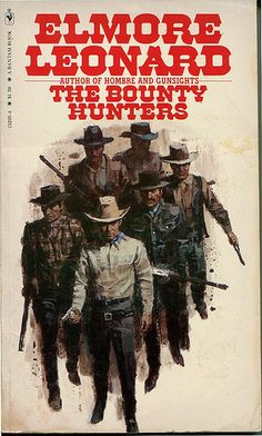11 Elmore Leonard The Bounty Hunters Bantam079