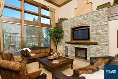 A fireplace surround can be the focal point in your space! Adding a natural stone ledger panel creates a striking and dynamic look that you can enjoy for years to come.