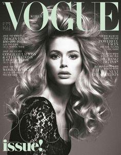 Vogue Korea March 2013 Covers (Vogue Korea) Doutzen Kroes