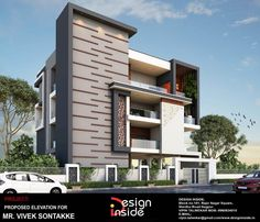 calenkcall - 0 results for design Classic House Design, Duplex House Design, Modern House Design, Modern Bungalow Exterior, Dream House Exterior, House Outside Design, House Front Design, Building Elevation, House Elevation