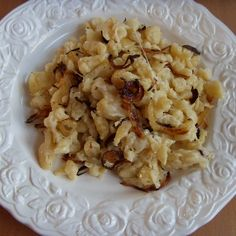 Käsespätzle ..... the German version of macaroni and cheese. As in the United States no Spätzlesieb exists, just take a colander and let the dough go through there.