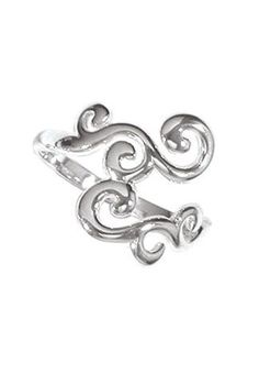 Swirl Ring - Fuego (41) | Piercings Tattoos and Rings | Pinterest ...