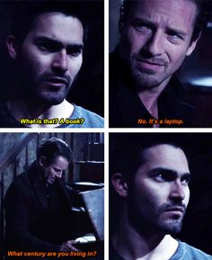 Teen Wolf - Derek and Peter