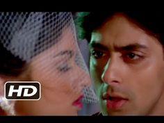 ▶ Mere Rang Mein - Salman Khan, Bhagyashree - Maine Pyar Kiya - Superhit Romantic Song - YouTube