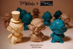 Tenacious Toys Blog: Tim Wollweber at Designer Con 2014 Booth #901