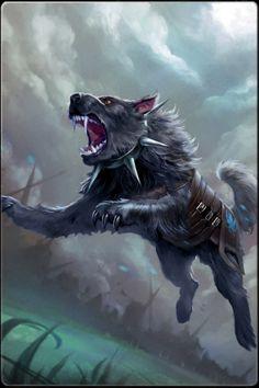 hell hound  horror  pinterest  werewolves mythical
