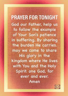 Good Night Prayer, Good Night Quotes, Goodnight Quotes Inspirational, Evening Prayer, Play Sets, Daily Walk, Ever And Ever, Daily Prayer, Holy Spirit