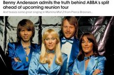 Visit my blog to read this Abba article #Abba Pierce Brosnan, 8th Of March, About Me Blog, Fans, Reading, Queens, Music, Word Reading, Muziek