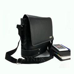 Men's Postman Bag Shoulder Bag Messenger Handbag Sling Bag Satchel PU Leather #Daz #MessengerShoulderBag