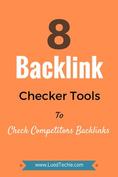 Are you concerned about your #competitor's #backlinks?  Having good #qualitybacklinks are not so easy these days. So we can look into our competitor's backlinks and can try to reach those good quality sites for backlinks.  #ImproveOrganicRankings #FasterIndexing #SEMrush #SwarmingTraffic #Ahref #SEOtools #BacklinkCheckerTools