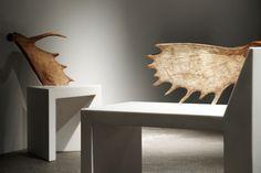 Image of Rick Owens Urban Minimalist Furniture Showing at Salon94