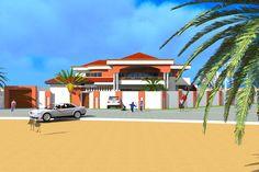 Projet de construction d'une residence a Dakar -Architecture et design, Albert Kwessi
