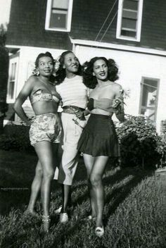 rudegyalchina:EVEN THROUGH EXTREME SEXISM, RACISM AND SEGREGATION. BLACK WOMEN STILL MANAGED TO SLAYYY BACK THEN.