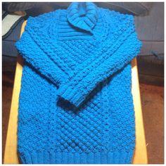 Isabelle's Aran Sweater Dress