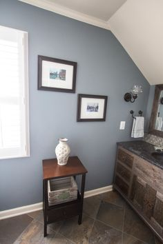 I Love This Wall Color Van Courtland Blue For Trim Or