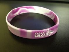 Embossed wristbands show your support for a cause. Shown: Walk to End Alzheimer's wristbands Walk To End Alzheimer's, Alzheimers, Emboss, Fundraising, Gold Rings, Walking, Logo, Jewelry, Products